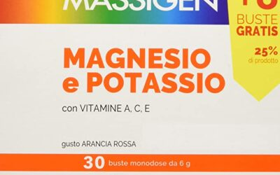 Massigen magnesio e potassio €9,90